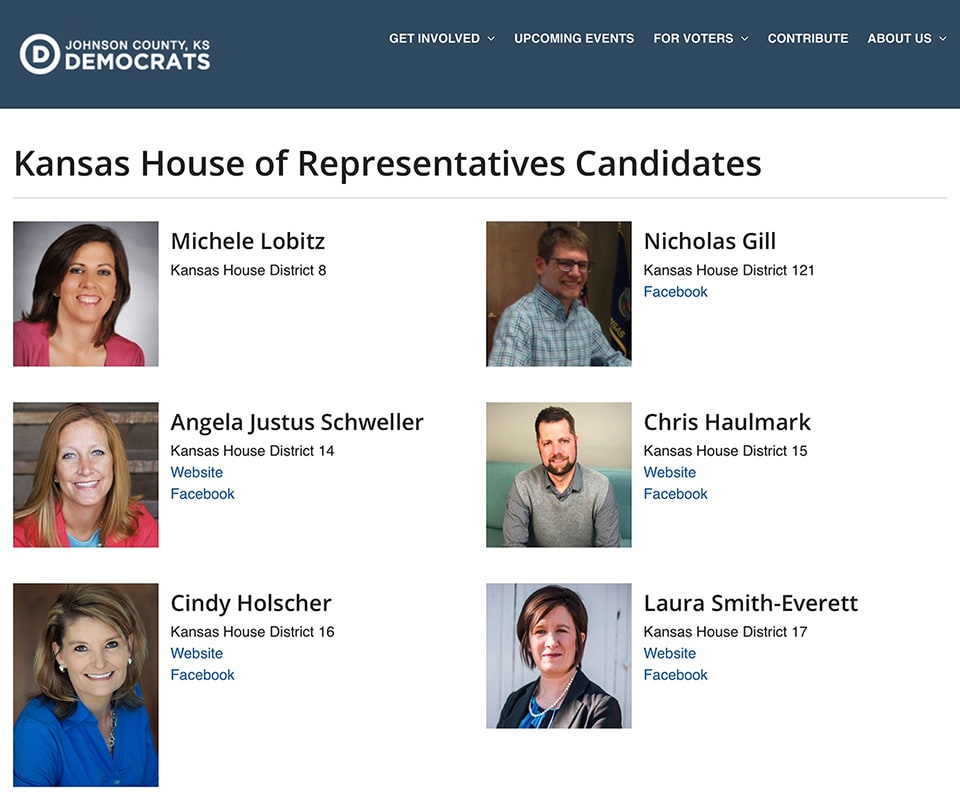 JoCoDems.org - Candidates
