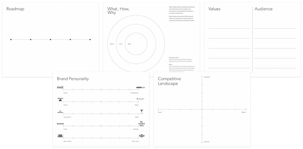 Brand Sprint Worksheet