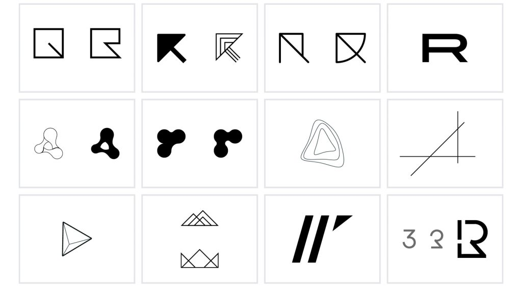 Right Triangle logo concepts